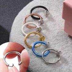 Ear Jewelry, Cute Jewelry, Silver Jewelry, Jewelry Accessories, Fashion Accessories, Jewelry Making, Jewellery, Piercing Face, Cute Ear Piercings
