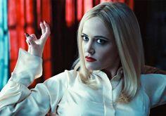 Eva Green (Angelique Bouchard) in Dark Shadows. Wicked!