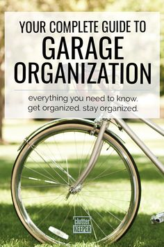 Be able to find and store all you need in your garage. With these smart and easy garage organization ideas, you'll finally have enough room to fit your car. Garage Tool Organization, Home Organization Hacks, Garage Storage, Budget Storage, Organizing Solutions, Organizing Tips, At Home Gym, Getting Organized, Budgeting