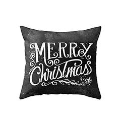 Christmas Home Decoration Christmas Sofa Pillow Cover Christmas Letters * Read more at the image link.