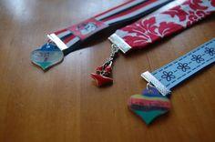 Ribbon bookmarks - great teacher gift