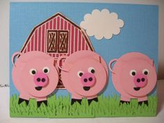 three little pigs by LyndaLee28 - Cards and Paper Crafts at Splitcoaststampers