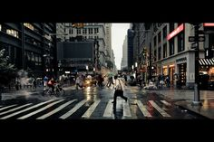 """New York City"" Cinematic Photography by Andrew Mohrer"