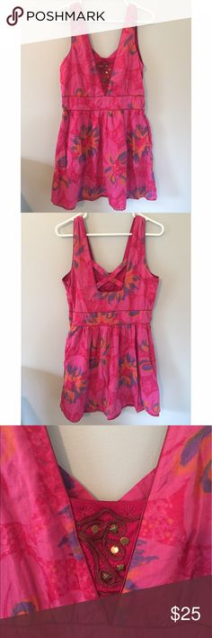 Free People Dress ✨MAKE AN OFFER✨ Adorable for summer! Short summer dress. Would pair adorably with a long cardigan on a breezy night. Only worn twice. Free People Dresses Mini