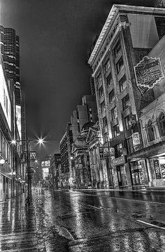 A place that i went and hated was downtown Toronto to visit my cousins. I hated downtown  Toronto because of all the noise, traffic, and people. During the time that i was there it was constantly busy and for me was just to busy of a city for me to live in. This is why i hate Toronto. @Miss Shiller