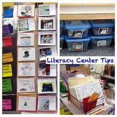 Kindergarten Is Crazy (Fun): Getting Organized for Literacy Centers!