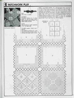 croche: Rectangular doilies crochet