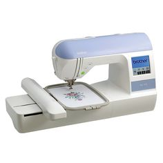 This Brother Embroidery Machine offers simple on-screen editing and and easy-to-use memory function for flawless embroidery designs. Use the included built-in embroidery card slot for access to thousands of Brother embroidery designs.