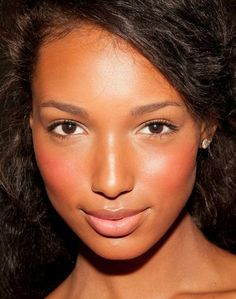 10 Summer Wedding Makeup Looks That Will Last | Beauty High: Finish off your look with a creamy blush for a youthful and feminine glow. A cream blush like Illamasqua's will blend seamlessly into your dewy summer skin.