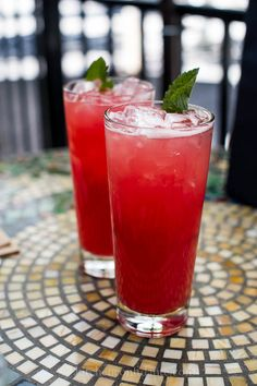 Watermelon Mint Coolers
