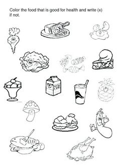 The Food Pyramid Is A Great And Attractive Coloring Page