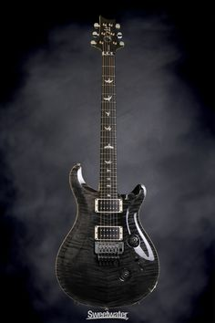 PRS Floyd Custom 24 Figured Top - Grey Black | Sweetwater.com