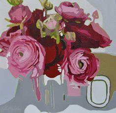 Kate Mullin Williford Art Flowers