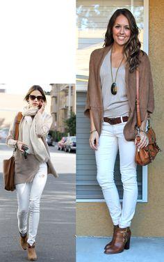 ¿Qué zapatos combinar un pantalón blanco? #zapatos #pantalónblanco