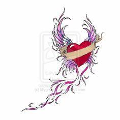 wings of heart - Google-haku