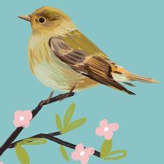 And another one... #makearteveryday #matssketchgroup #sketchaday #SURTEX #sketcheveryday #bird #illustration #artdaily2015 #art