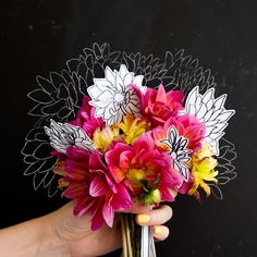 Learn how to draw a dahlia with this easy instructional video.