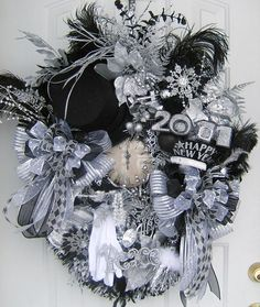 New Years wreath