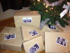 Christmas wrapping <3