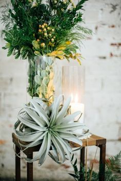 bohemian ceremony decor - photo by Monika Gauthier Photography http://ruffledblog.com/earthy-industrial-bohemian-wedding-inspiration