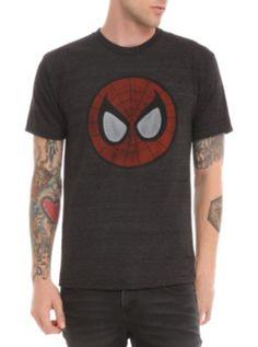 Marvel Spider-Man Circle Face T-Shirt