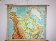 Oude landkaarten van Canada, Kanada