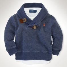 Shawl Fleece - Infant Boys Tops - RalphLauren.com