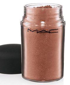 Mac's Tan Pigment.. The prettiest eye shadow I own!