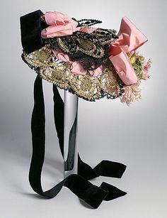 Bonnet, 1880's France, LACMA)
