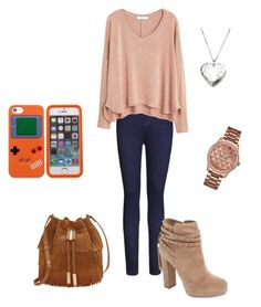 """Sin título #23"" by barbi-osa on Polyvore featuring moda, Ally Fashion, Jessica Simpson, MANGO, Vince Camuto y GUESS"