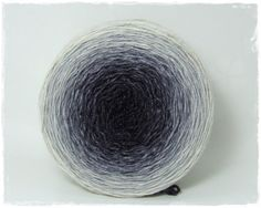 Handpainted gradient yarn (merinos silk) available in fingering or lace from Wollelfe (etsy)