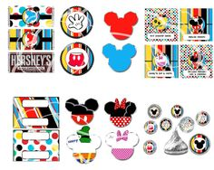Mickey Mouse Party Mickey mouse Birthday - Inspired by Mickey Mouse - Party Set