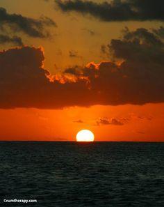 Sunset from St. Croix, USVI