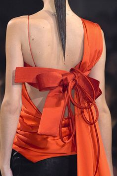 Haider Ackermann - Spring 2011 | Keep the Glamour | BeStayBeautiful