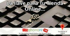 Decidida a tener Tu Tienda Online ? ¡Únete al Primer Shopping Mall Online de Puerto Rico y tendrás con nosotros mucho más que una Tienda!   #ahorros #puertorico #shopping #mall #online