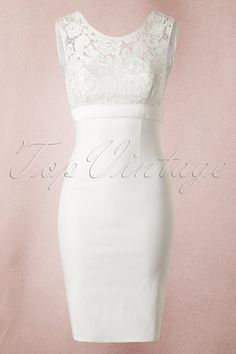 White Lace Bow Pencil Dress Unique Vintage White lace bow wedding dress 13033 20140603 0004 2 If I should get married one day, this would be my wedding dress. ♥ me some Top Vintage retro boutique. Trendy Dresses, Simple Dresses, Elegant Dresses, Vintage Dresses, Nice Dresses, Dresses Uk, Prom Dresses, Wedding Robe, Elegant Wedding Dress