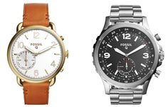 Classic meets connected with these fine smart analog watches by Fossil.. #wearables #SmartAnalogWatch #WearableTech