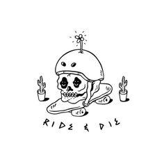 Illustration by adedewo #skate #fun #rideordie