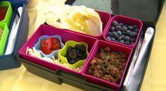 Healthy back-to-school snacks!   #BackToSchool #HealthySnacks
