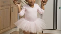 Introduce a budding ballerina to the art of dance through simple games.
