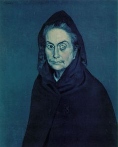 Picasso, La Celestina, 1904. Blue period