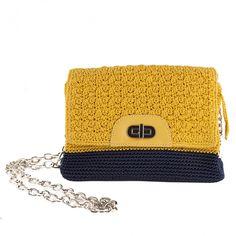 #bug berta #yellow #fashion #mode  http://www.kokomamas.it/it/borsa-a-tracolla-berta-gialla-in-cotone.html