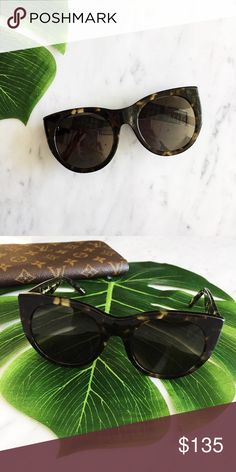 6b897ba3640 Tortoise Shell New RAEN Durante sunglasses. I love the chunky cat-eye style  of these sunglasses! Super chic and the perfect addition to any look.