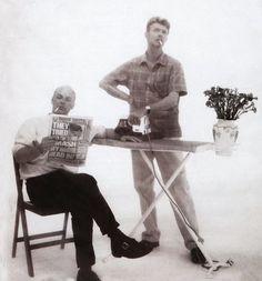 David Bowie and Brian Eno