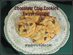 I've  tried various chocolate chip cookie recipes, but this one is my all time favorite! It has a light crunch on the outside with a soft chewy inside! If that is how you like your chocolate chip cookies, this recipe is for you. I have found it also makes a difference  how you bake them. I'll let you in on my method.
