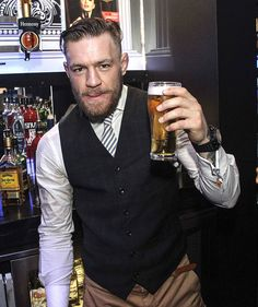 UFC superstar Conor McGregor takes time out from training and recuperation from his knee injury to party at GAA manager Seamus McEnaney's Vanity Nightclub in Carrickmacross with friends and fans... WENN.com