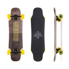 Perfect all-rounder - Longboard Landyachtz Tomahawk Lines 39 in shop now!