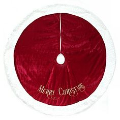 I Need My Plain Tree Skirt Embroidered Maybe Our Last Name Or Initial In Bright Green