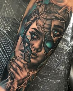 🤩 Artist: Cebaz 🌐 Location: Lleida, Spain Want a tattoo but can't find a great artist or studio? Come to The World's Largest Tattoo Directory: ✅ We'll help you find great tattoo artists & studios FAST! Forarm Tattoos, Cool Forearm Tattoos, Weird Tattoos, Dope Tattoos, Badass Tattoos, Tattoo Ink, Native Tattoos, Tatoos, Skull Sleeve Tattoos