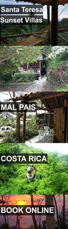 Hotel Santa Teresa Sunset Villas in Mal Pais, Costa Rica. For more information, photos, reviews and best prices please follow the link. #CostaRica #MalPais #travel #vacation #hotel